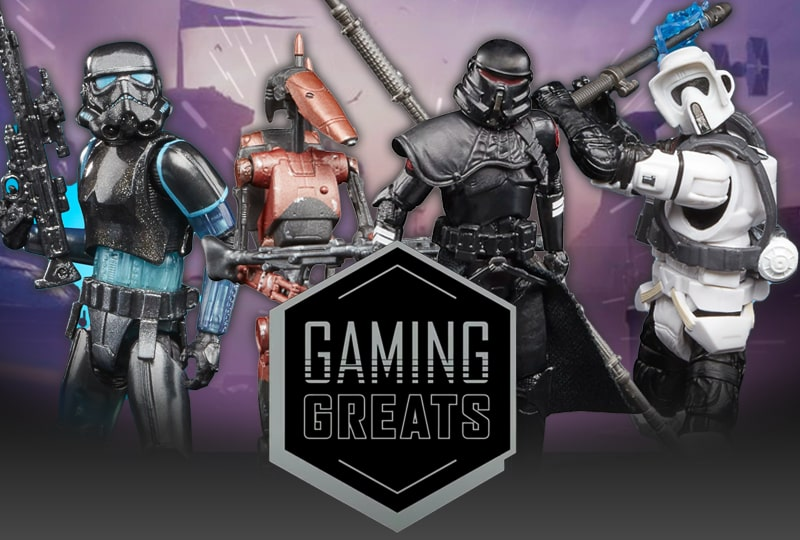 New Gaming Greats figures from Star Wars video games