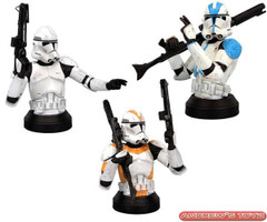 Clone Trooper ROTS Mini Bust Case of 6