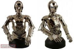 C-3PO (Chrome Plated) Exclusive Mini Bust