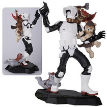 Scout Trooper Ewok Attack Maquette