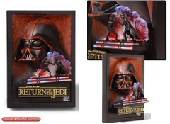 Return of the Jedi Mini Sculpted Poster