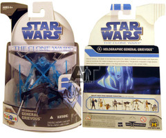 Clone Wars 2008 Holographic General Grievous (Exclusive)