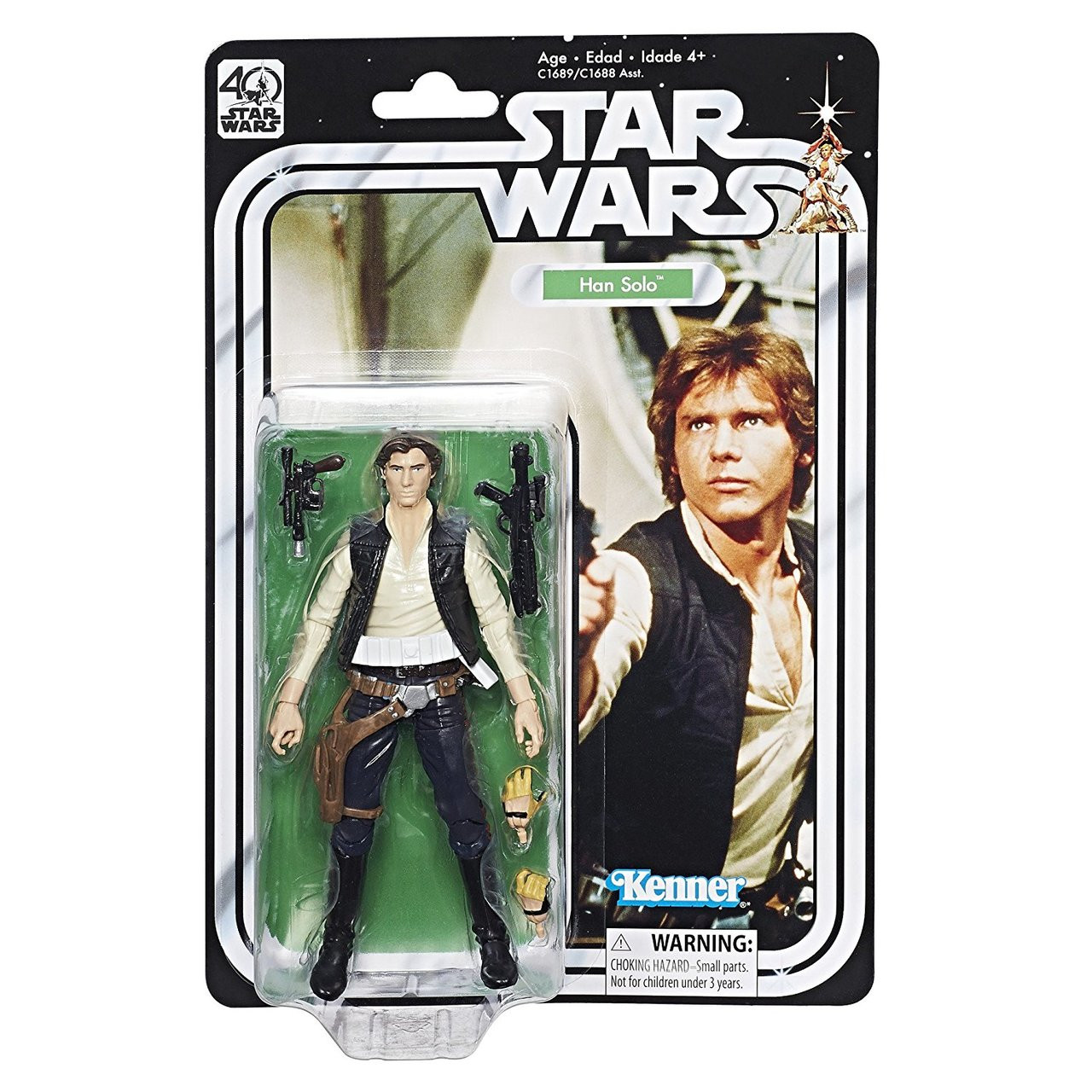 Star Wars The Black Series 40th Anniversary 6 Inch Action Figures New Sealed