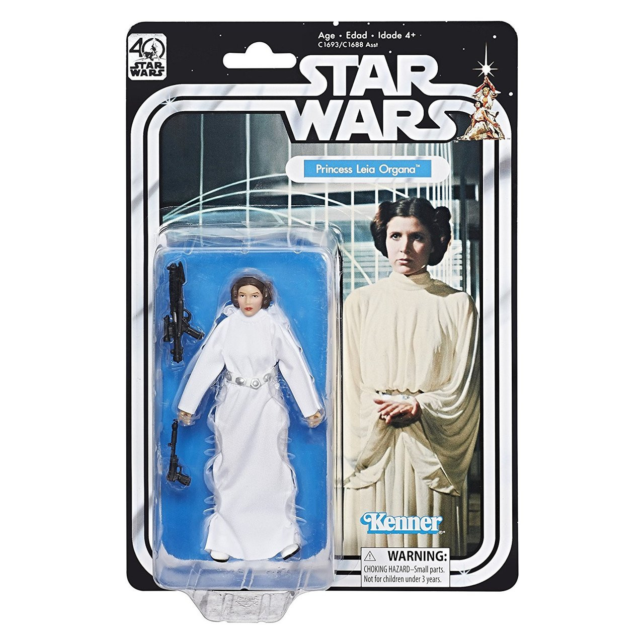 "Black Series Princess Leia Organa #75  6/"" IN STOCK! Hoth"