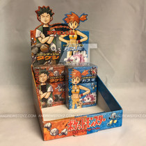 Pokemon Japanese Gym Heroes Brown & Blue Partial Deck Box