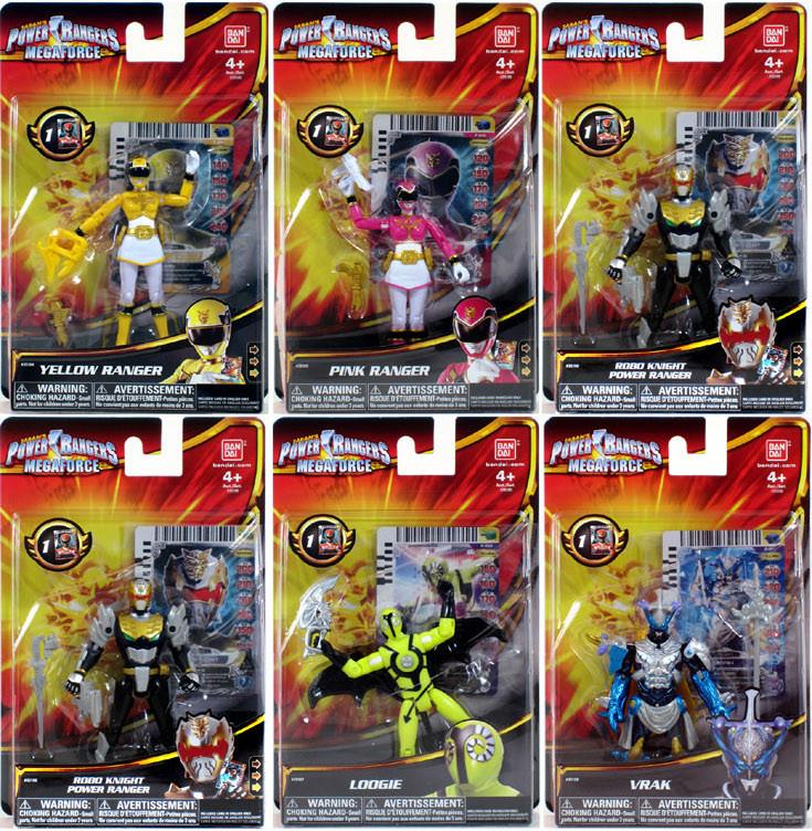 huge discount 7e7ba 4a247 Power Rangers Megaforce Wave 2 Case of 12 Figures