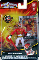"Power Rangers Megaforce Red 4"" Ranger Figure"