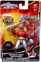 "Power Rangers Megaforce Metallic Red 4"" Ranger Figure"