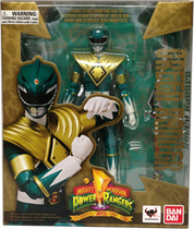 Mighty Morphin Power Rangers Green Ranger SH Figuart (Box Error)