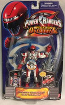 Power Rangers Operation Overdrive Mission Response Red