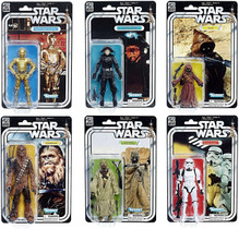Black Series 40th Anniversary Wave 2 Case of 8 Figures