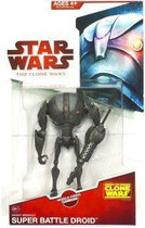 Clone Wars 2009 Heavy Assault Super Battle Droid #CW11