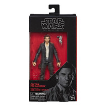 Black Series 6-inch The Last Jedi #53 Captain Poe Dameron (Not Mint Box)