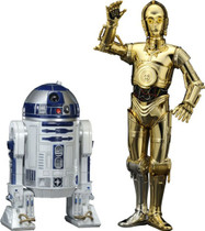 C-3PO & R2-D2 Droids ArtFX+ Kotobukiya 1/10 Scale Model Figures