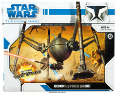 Clone Wars 2008 Homing Spider Droid Vehicle