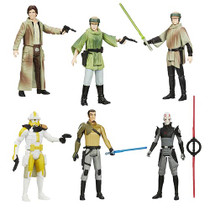 Star Wars Saga Legends Wave Set of 6 (Rebels Wave 4)