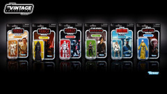 The Vintage Collection 2018 Wave 1 Case of 8 Figures