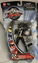 Power Rangers RPM Full Throttle Black Action Figure