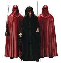 Emperor Palpatine & Royal Guards 3-Pack ArtFX+ 1/10 Scale Statue