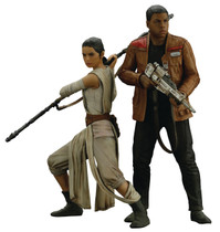 Rey And Finn 2-Pack ArtFX+ 1/10 Scale Statue