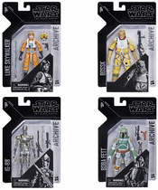 Black Series 6-inch Archive Collection Wave 1 Set of 4