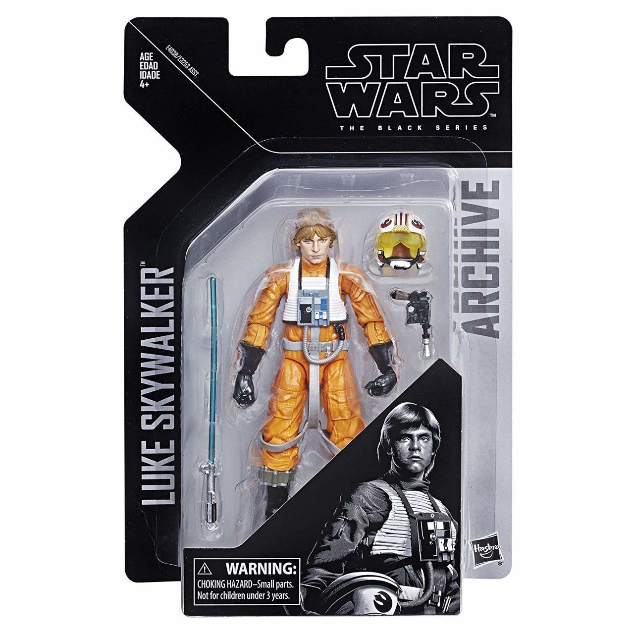 NEW Hasbro Star Wars The Force Awakens The Black Series 6-Inch Luke Skywalker