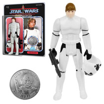 Luke Skywalker Stormtrooper Disguise Jumbo Vintage Kenner Figure