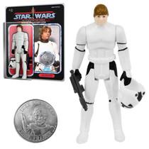 Luke Skywalker Stormtrooper Disguise Jumbo Vintage Kenner Figure