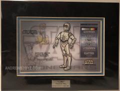 Character Key C-3PO Clone Wars #0786/1000