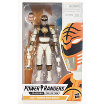 Power Rangers Lightning Collection Mighty Morphin White Ranger  6-inch Figure