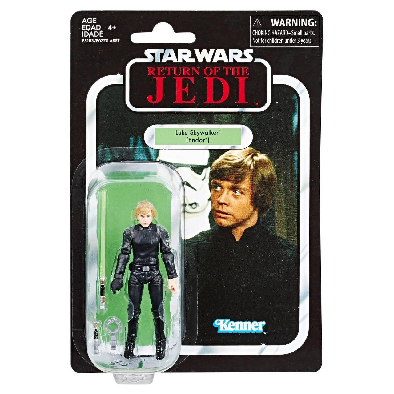 "Yavin Star Wars Retro Kenner Collection Luke Skywalker 3.75/"" Action Figure NEW"