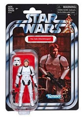 Vintage Collection 143 Han Solo Stormtrooper Disguise Star Wars Action Figure