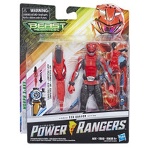 Power Rangers Beast Morphers 6-inch Red Ranger Figure