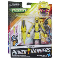 Power Rangers Beast Morphers 6-inch Yellow Ranger Figure