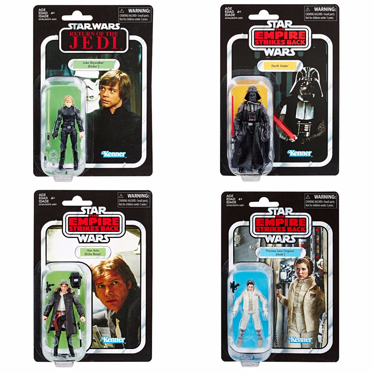 """In-Hand Hasbro Star Wars Vintage Collection 3.75/"""" Solo Case Set of 8 Figures NEW"""