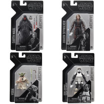 Black Series 6-inch Archive Collection Wave 2 Set of 4