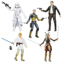 Black Series 6-inch Wave 5 (2016 Wave 2) Case of 6 Figures