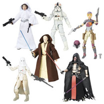 Black Series 6-inch Wave 9 (2016 Wave 5) Case of 6 Figures