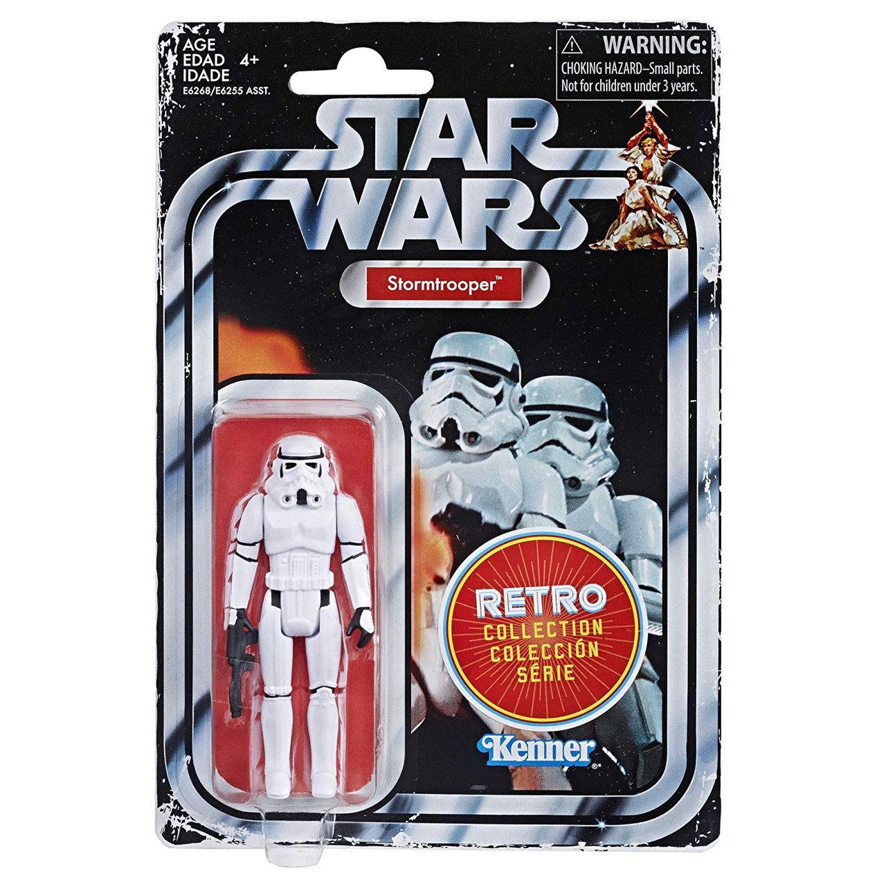 "lot of 6 Star Wars Action Figure box set 3.75/"""