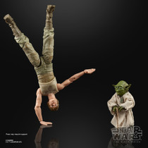 Black Series Luke Skywalker Dagobah & Yoda Figure Set