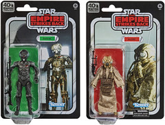 Black Series 6-inch Empire Strikes Back 40th 4-LOM & Zuckuss 2-Pack