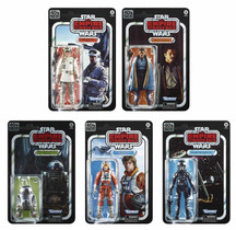 Black Series 6-inch Empire Strikes Back 40th Wave 2 Set of 5 Figures