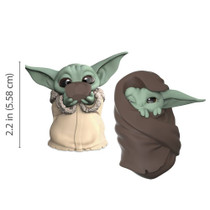 The Child Baby Yoda Soup Cup & Blanket Figure 2-Pack