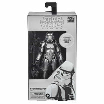Black Series 6-inch Carbonized Stormtrooper Metallic Figure