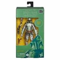 Black Series 6-inch Carbonized Boba Fett Metallic Figure