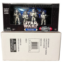 Clone Trooper Builder 4-Pack White with Battle Damage (Exclusive)