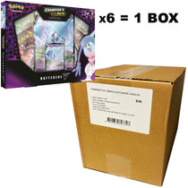 Pokemon Champion's Path Hatterene V Case of 6 Boxes