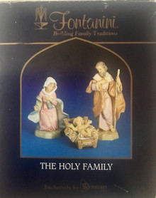 HOLY FAMILY IN BOX