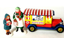POPCORN VENDOR # 59587 DEPT 56 CHRISTMAS IN CITY VILLAGE