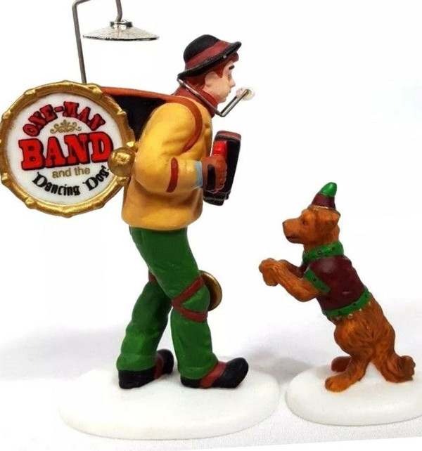 ONE MAN BAND AND THE DANCING DOG #58891
